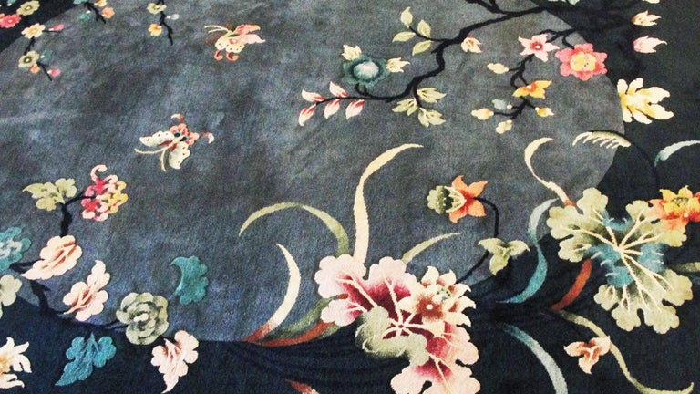 20th Century Antique Art Deco Carpet For Sale