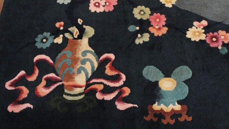 Antique Art Deco Carpet For Sale 1