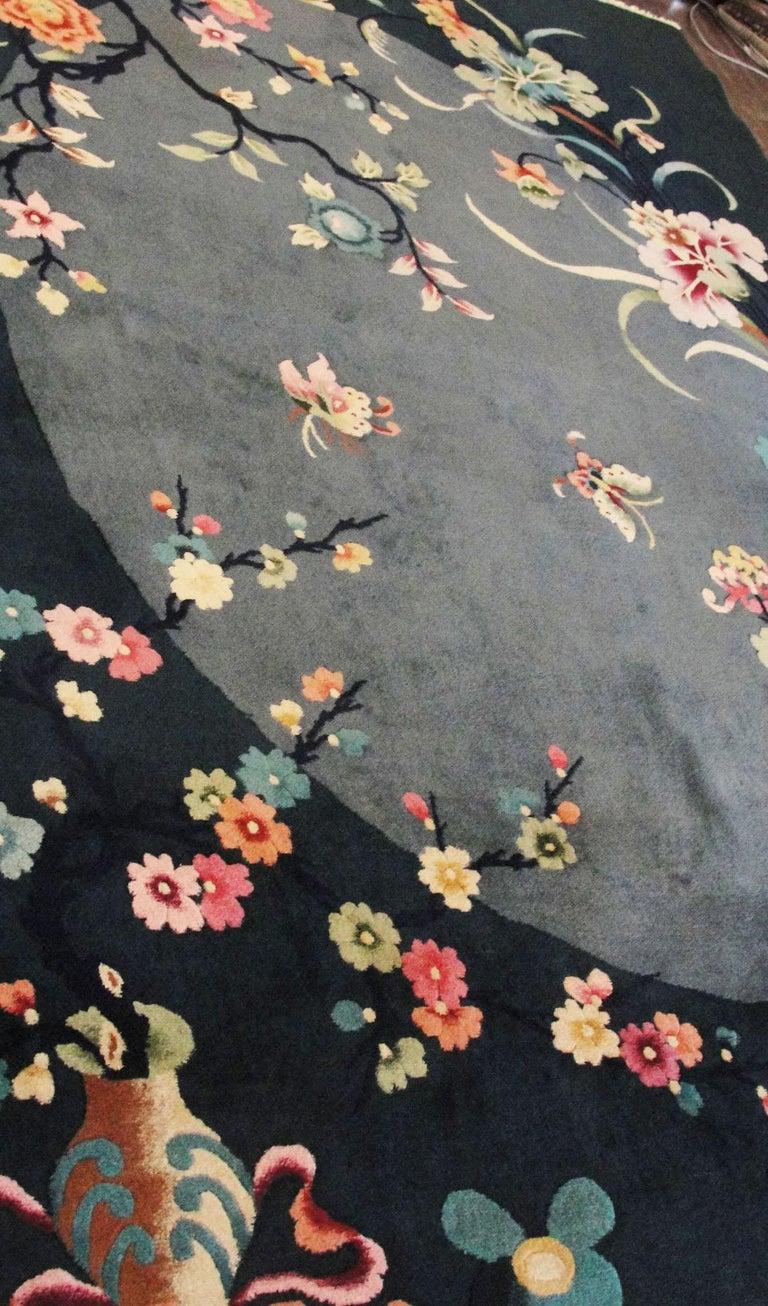 Antique Art Deco Carpet For Sale 2