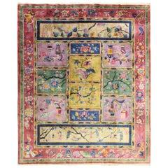 Antique Art Deco Carpet, Most Unusual