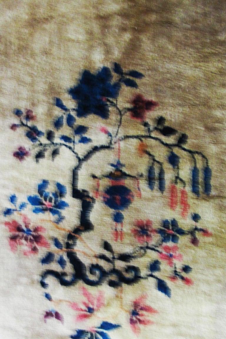 Antique Art Deco Chinese Carpet For Sale 1