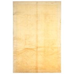 Antique Art Deco Chinese Rugs, Gold Rug, Plain Carpet Rugs Versace Border