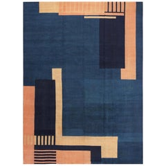 Antique Art Deco Design Rug