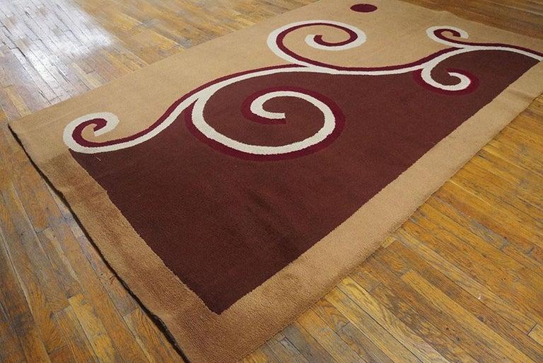 English Art Deco Carpet by Marion Dorn Circa 1920s 6' x 9' - 182 x 275 cm