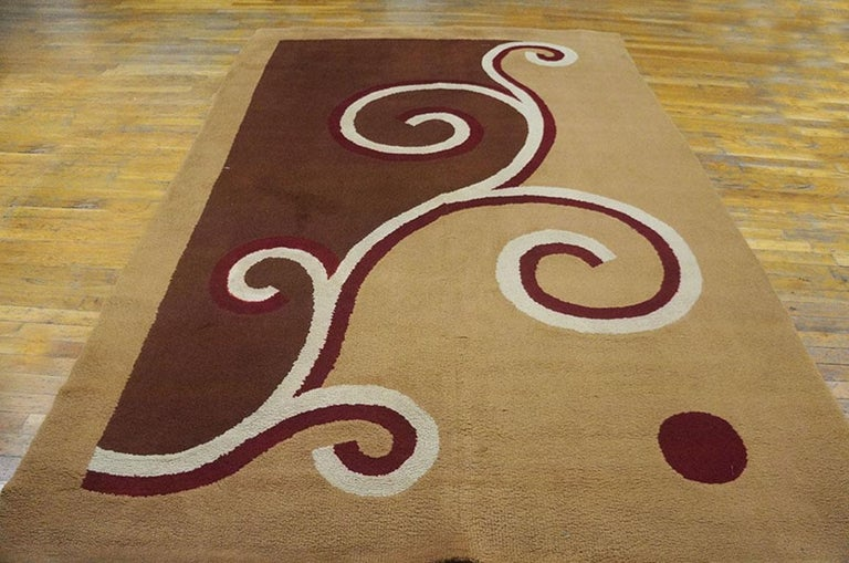 English Art Deco Carpet by Marion Dorn In Good Condition For Sale In New York, NY