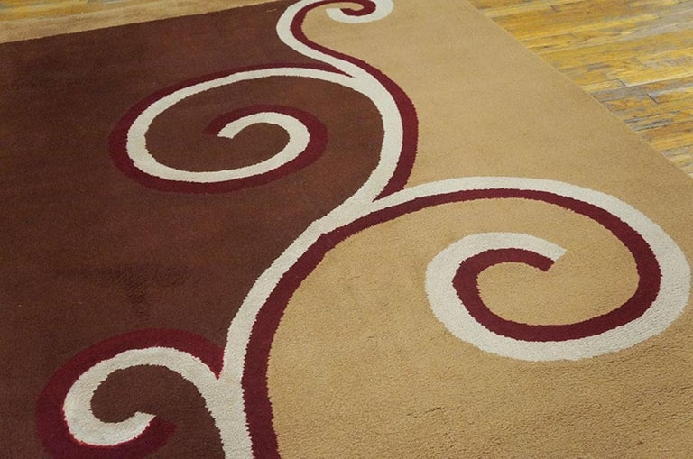 Early 20th Century English Art Deco Carpet by Marion Dorn For Sale