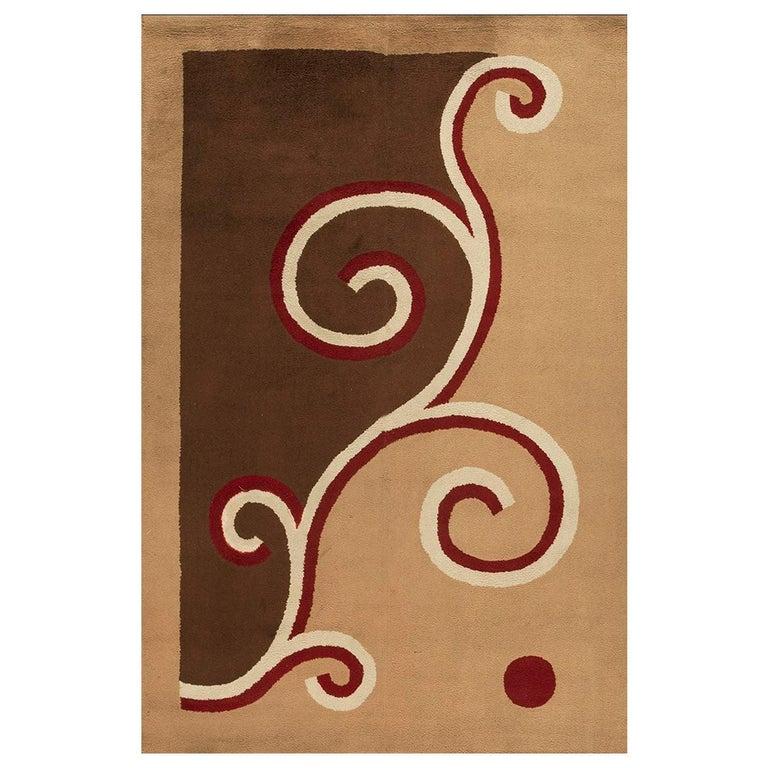 English Art Deco Carpet by Marion Dorn For Sale