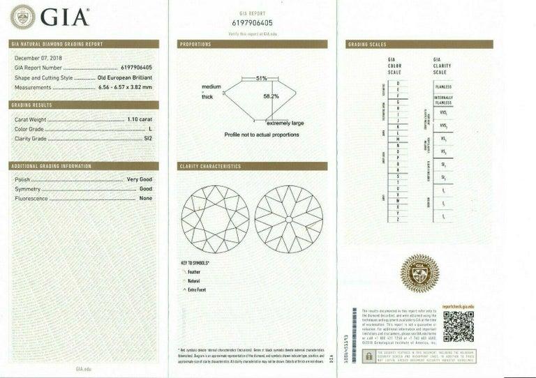 Antique Art Deco Platinum 4.18ctw GIA Diamond Sapphire Etched Filigree Bracelet For Sale 4