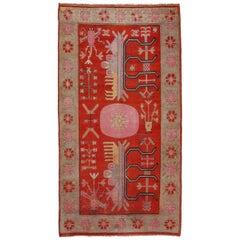 Antique Art Deco Samarkand Prestige Rug, circa 1920