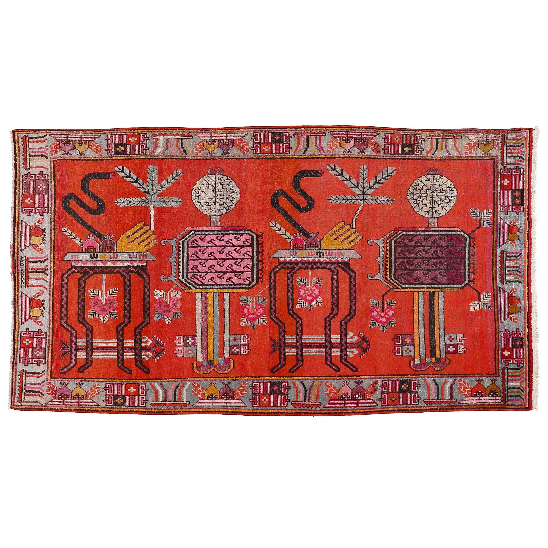 Antique Art Deco Samarkand Prestige Rug