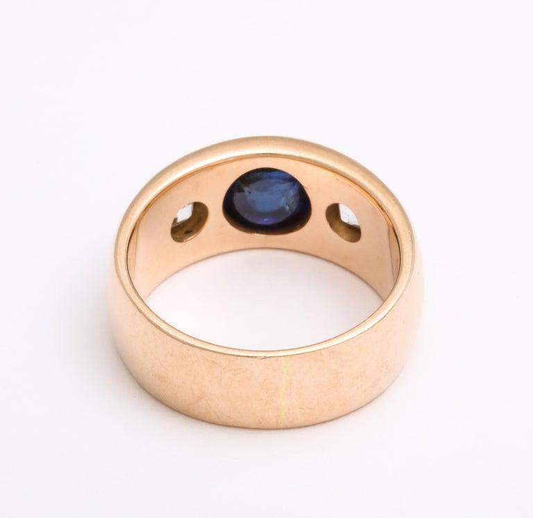 Antique Art Deco Sapphire and Diamond Ring 1