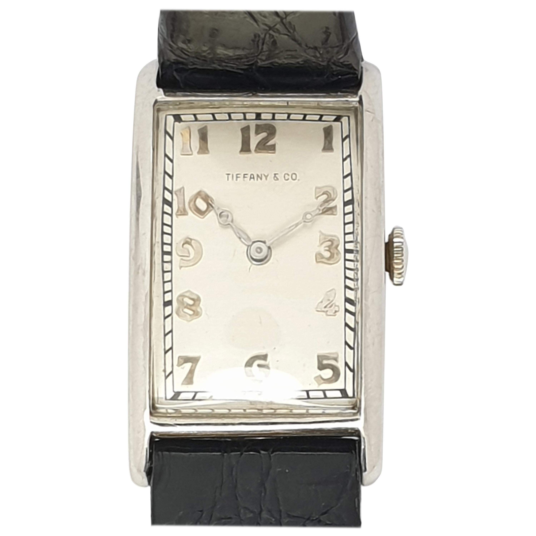 Antique Art Deco Tiffany & Co. Platinum Watch