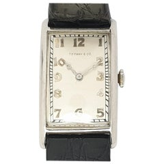Antique Art Deco Tiffany & Co. Platinum Watch