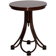 Antique Art Nouveau Bentwood Coffee Table from the Late 19th Century by Thonet