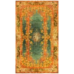 Antique Art Nouveau Donegal Rug. Size: 10 ft 2 in x 17 ft (3.1 m x 5.18 m)