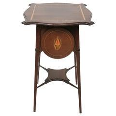 Antique Art Nouveau Side Table by Palmers, 1910