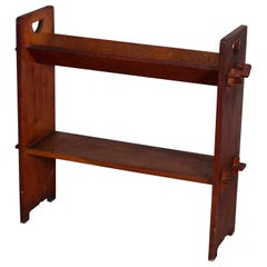 Antique Arts & Crafts Gustav Stickley Mission Oak Book Stand, circa 1910