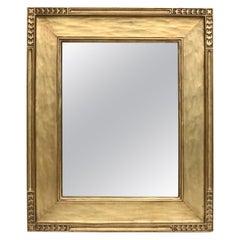 Antique Arts & Crafts Newcomb-Macklin Giltwood Framed Wall Mirror, circa 1910