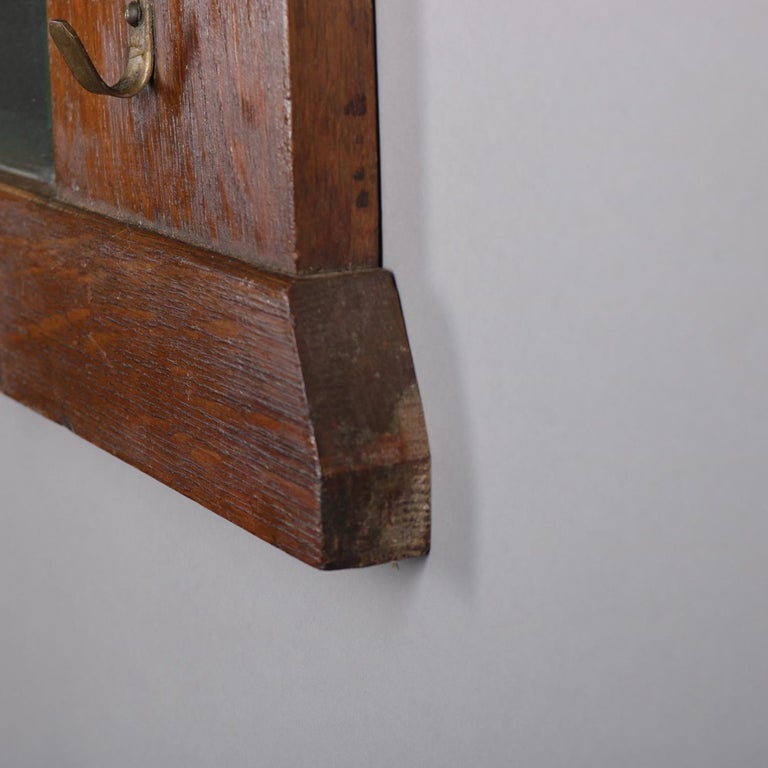Antique Arts And Crafts Stickley School Mission Oak Wall
