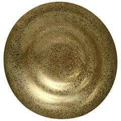 Antique Arts & Crafts Tiffany Studios Gilt Bronze Dore Plate, circa 1910