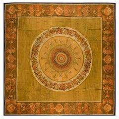 Antique Aubusson European Rug