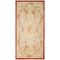 Antique Aubusson European Rug