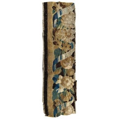 Antique Aubusson Fragment Tapestry