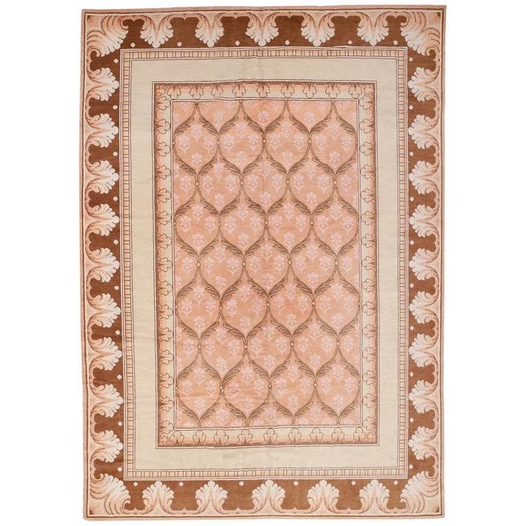 Antique Arts And Crafts Rugs: Antique Axminster Rug With Arts And Crafts Pattern In