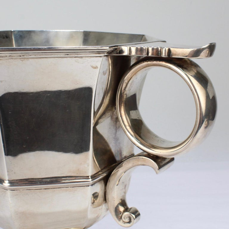 Antique Bailey Banks & Biddle George II Style Sterling Silver Loving Cup For Sale 6