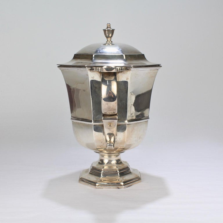 Antique Bailey Banks & Biddle George II Style Sterling Silver Loving Cup For Sale 1