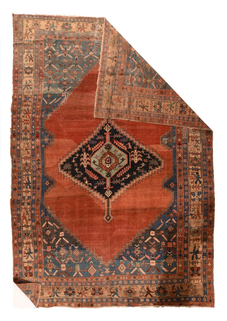 Antique Bakhshaish Persian rug, circa 1890