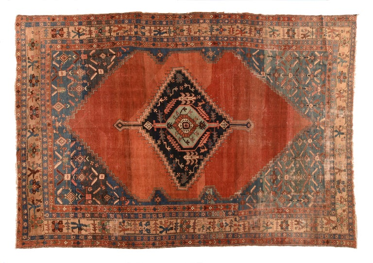 Antique Bakhshaish Persian Rug, circa 1890 In Excellent Condition For Sale In Chevy Chase, MD