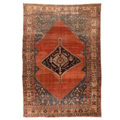 Antique Bakhshaish Persian Rug, circa 1890