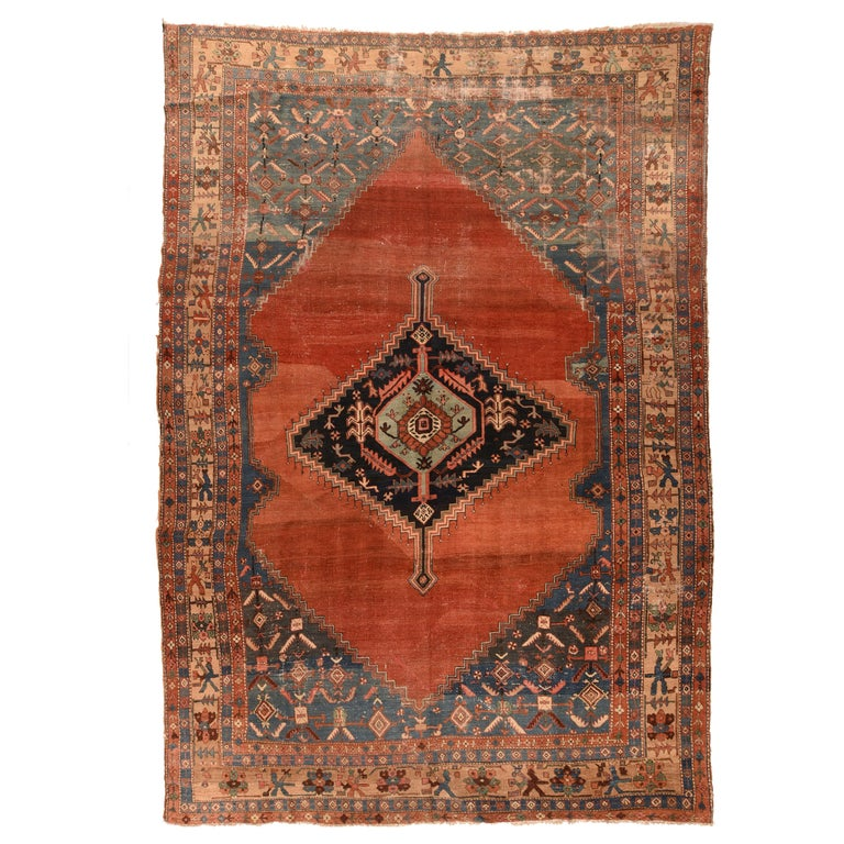 Antique Bakhshaish Persian Rug, circa 1890 For Sale