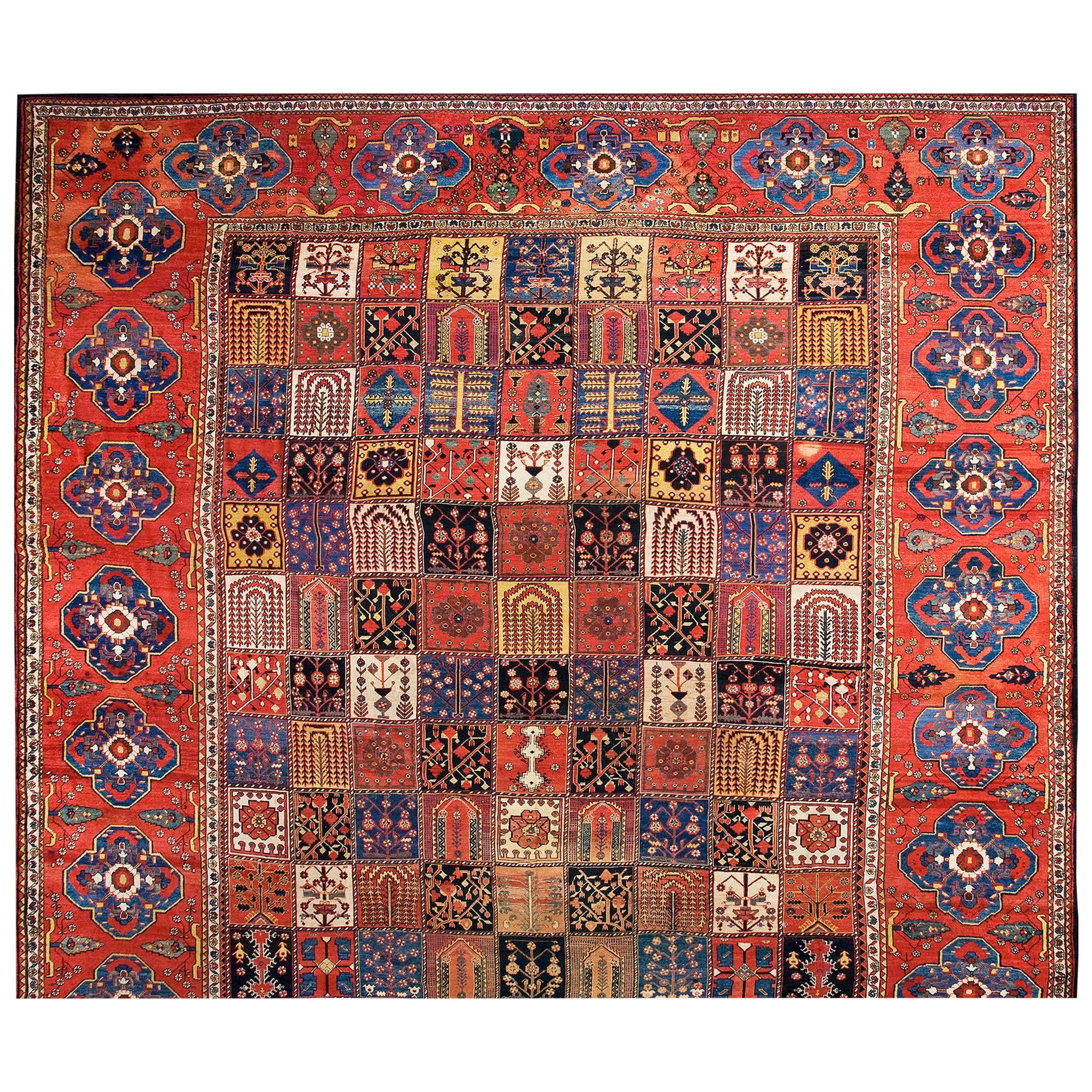 Antique Bakhtiari Rug