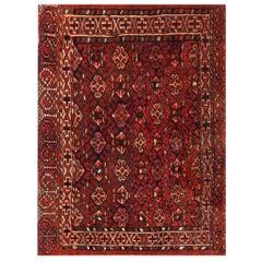 Antique Baluch Turkmen Rug