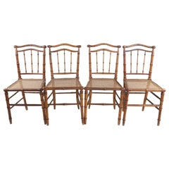 Antique Bamboo Chairs (4)