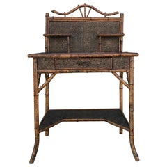 Antique Bamboo Desk / Writing Table
