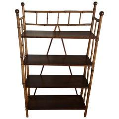 Antique Bamboo Étagère/Shelf