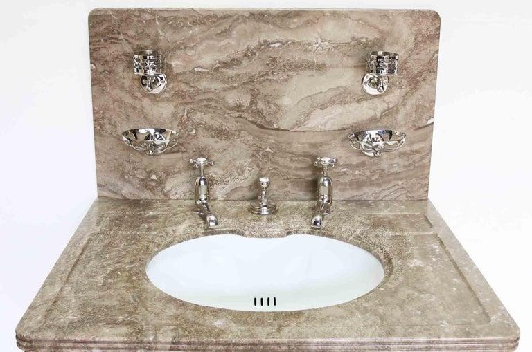 Antique bathroom vanity suite basin for sale at 1stdibs - Antique bathroom vanities for sale ...