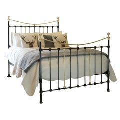 Antique Bed in Black MK236