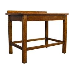 Antique Bedroom Rack, English, Oak, Nightstand, Hallway, Luggage, Edwardian