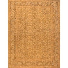 Antique Beige Persian Sultanabad Rug