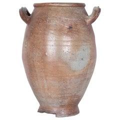 Antique Belgian Ceramic Pot