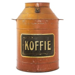 Antique Belgian Coffee Canister