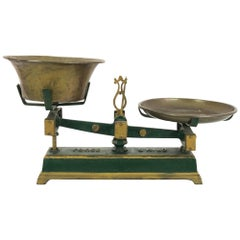 Antique Belgian Metal Scale