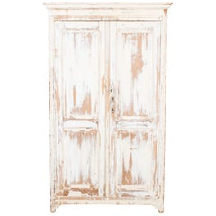 Antique Belgian Wooden Armoire