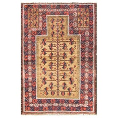 Antique Belouch Prayer Rug