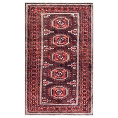 Antique Belouch Turkoman Rug