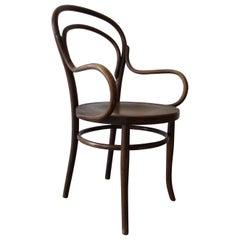 Antique Bentwood Chair No 14 by Thonet 19th Century Art Nouveau